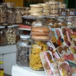 Os famosos doces no Portal De Los Dulces.