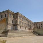 O terrível presídio. Em Alcatraz Federal Penitentiary.