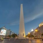 Obelisco é o cartão-postal de BA.