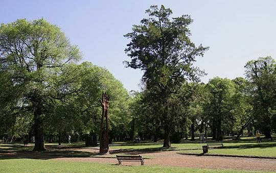 Parque Avellaneda, em Buenos Aires, Argentina.