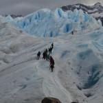 Treeking pelo Glaciar Perito Moreno.