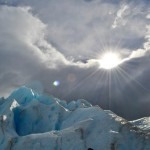 Top do trekking no Glaciar Perito Moreno.