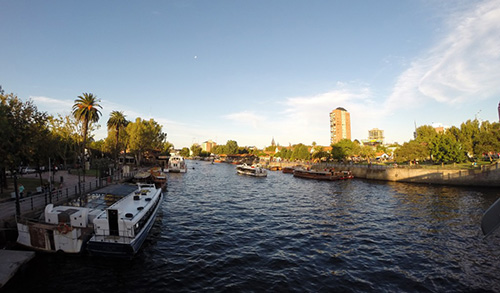 Delta do Rio Tigre, próximo a Buenos Aires, Argentina.