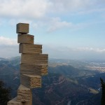 La Escalera de L'Enteniment: da pedra ao céu