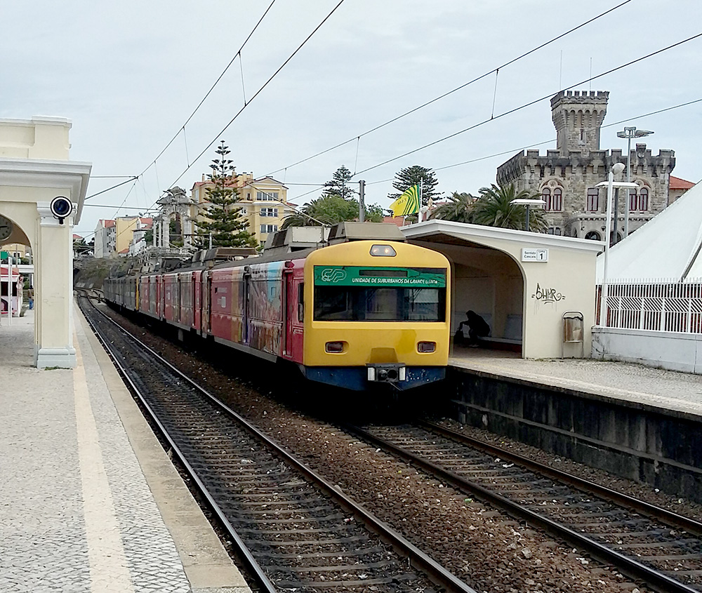 Comboio em Estoril